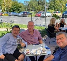 Edin Karamazov, Zoran Zadravec i Ivan Medvidović