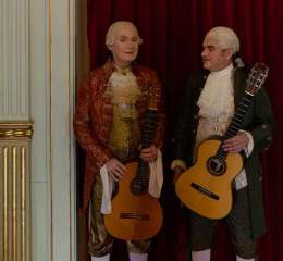 Mozart on Two Guitars